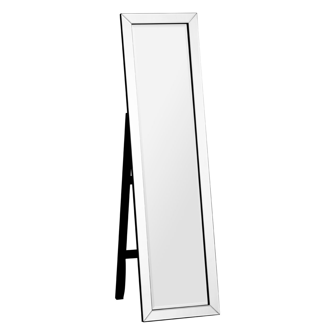 Prime Furnishing Floor Standing Mirror, MDF Frame