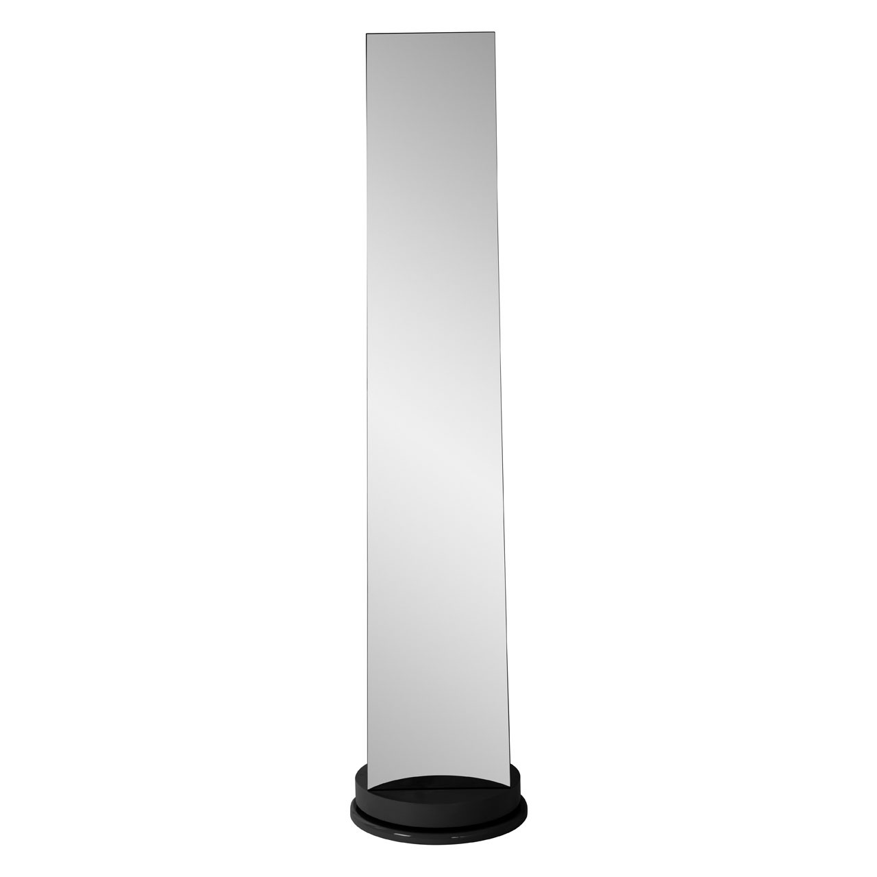 Prime Furnishing Floor Standing Revolving Mirror - Black