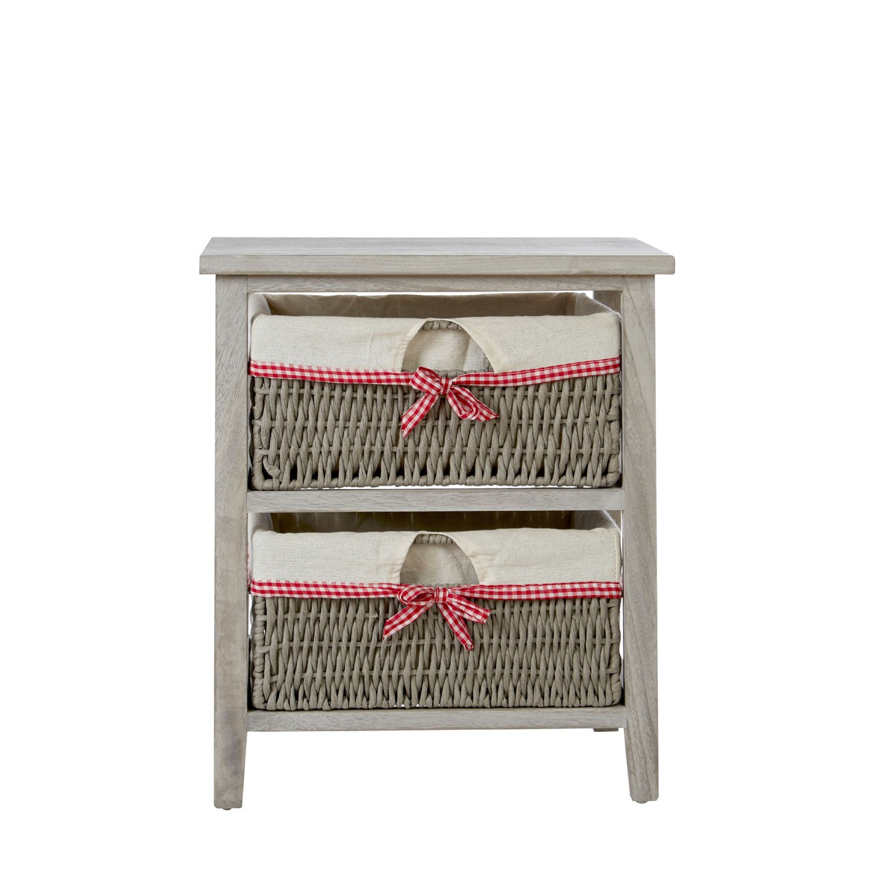 Prime Furnishing Cotswold Storage Unit with 2 Woven Baskets