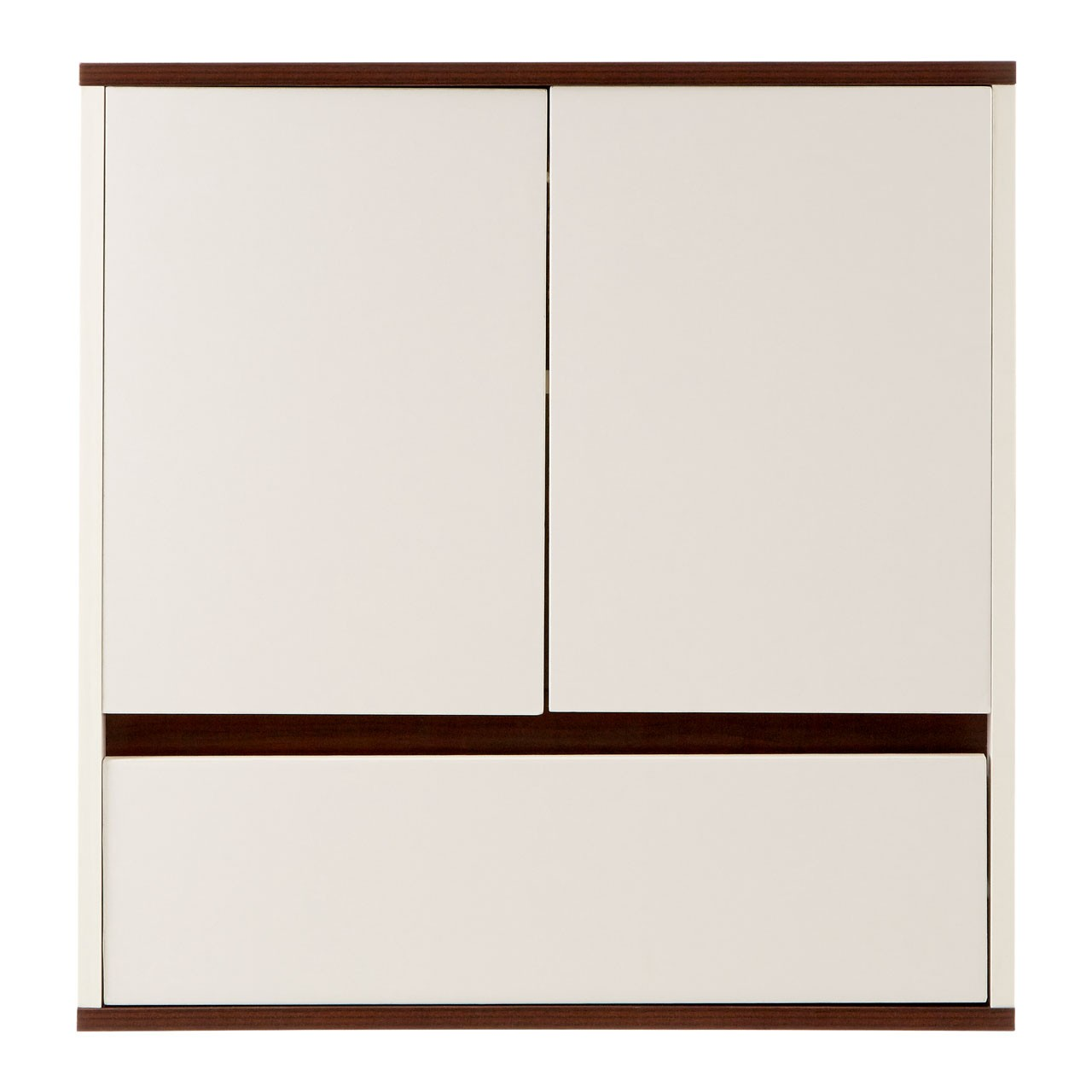 Prime Furnishing Chelsea 2 Door Wall Cabinet - White
