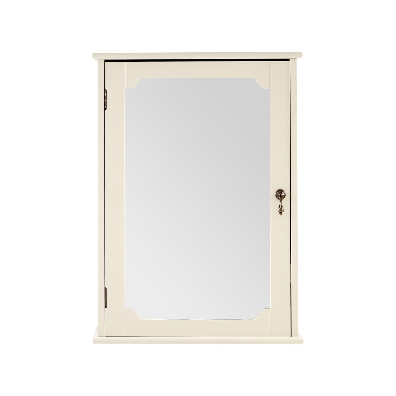 Marcella Mirror Wall Cabinet, Ivory