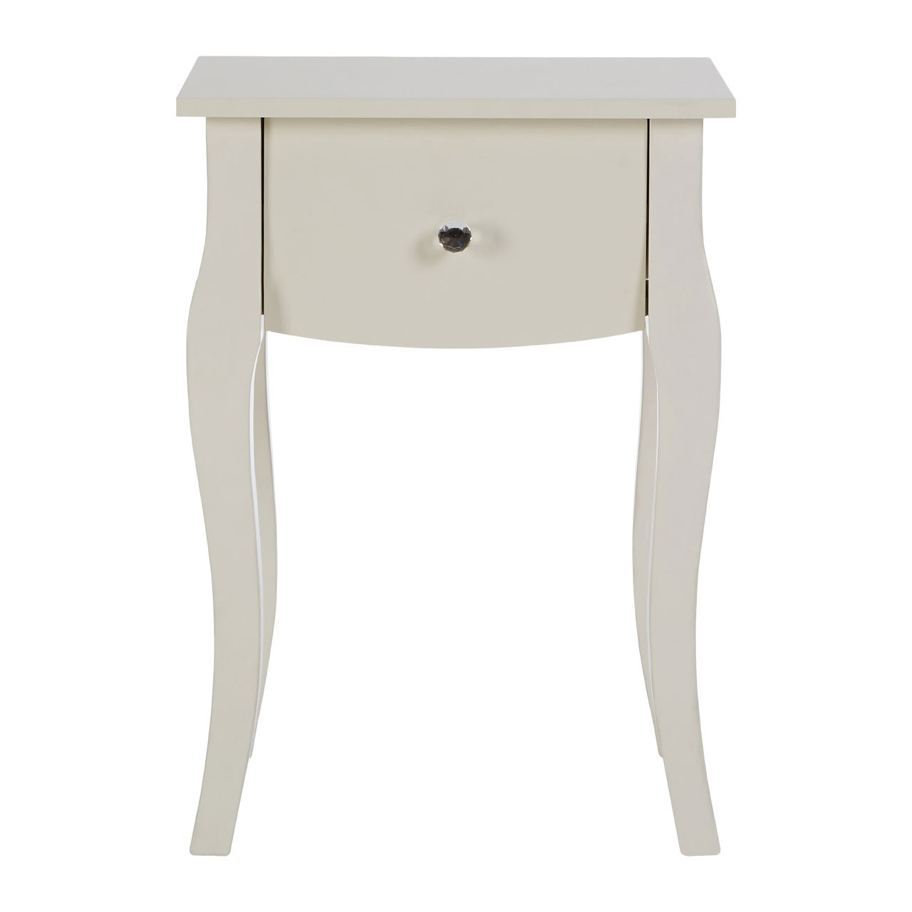 Emily Kids Side Table, Wood - Ivory
