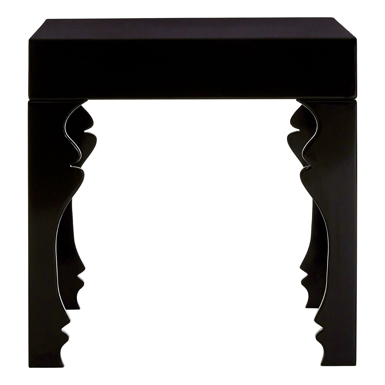 Luis Side Table MDF, Black