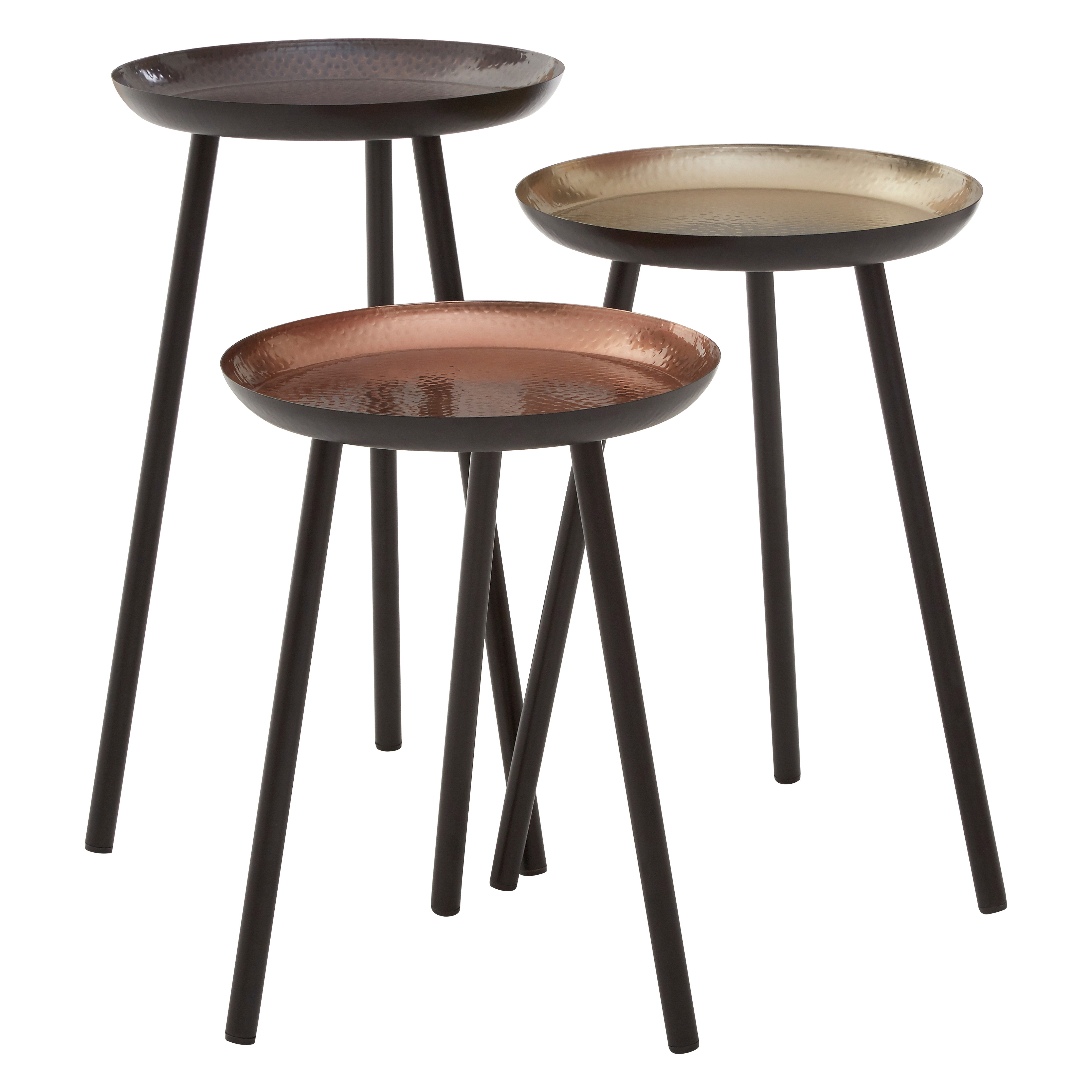 Complements Round Side Tables - Set of 3