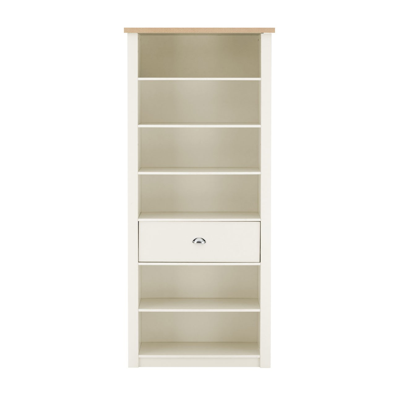 St Ives Bookcase - White