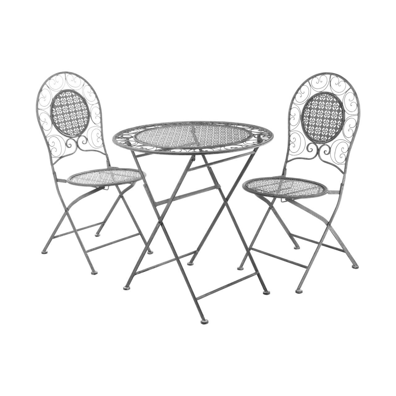 Finchwood Jardin 3pc Table Set - Grey