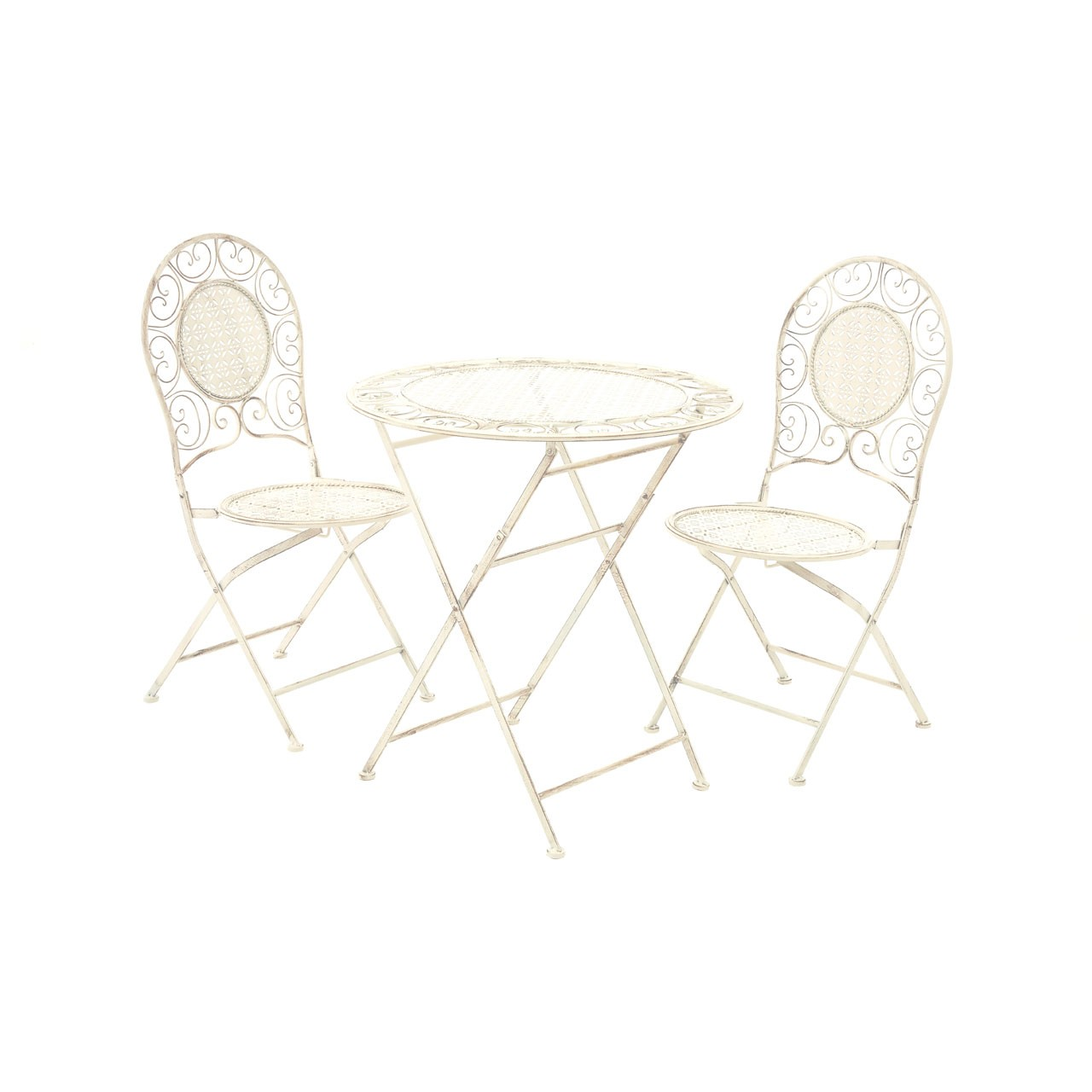 Finchwood Jardin 3pc Table Set - Cream