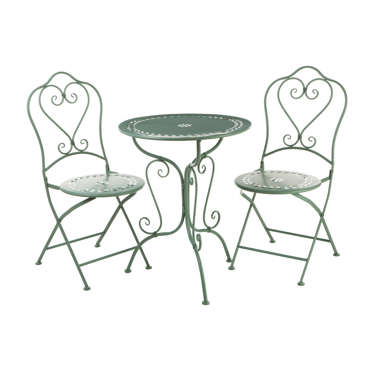Finchwood Jardin 3pc Table Set -Green