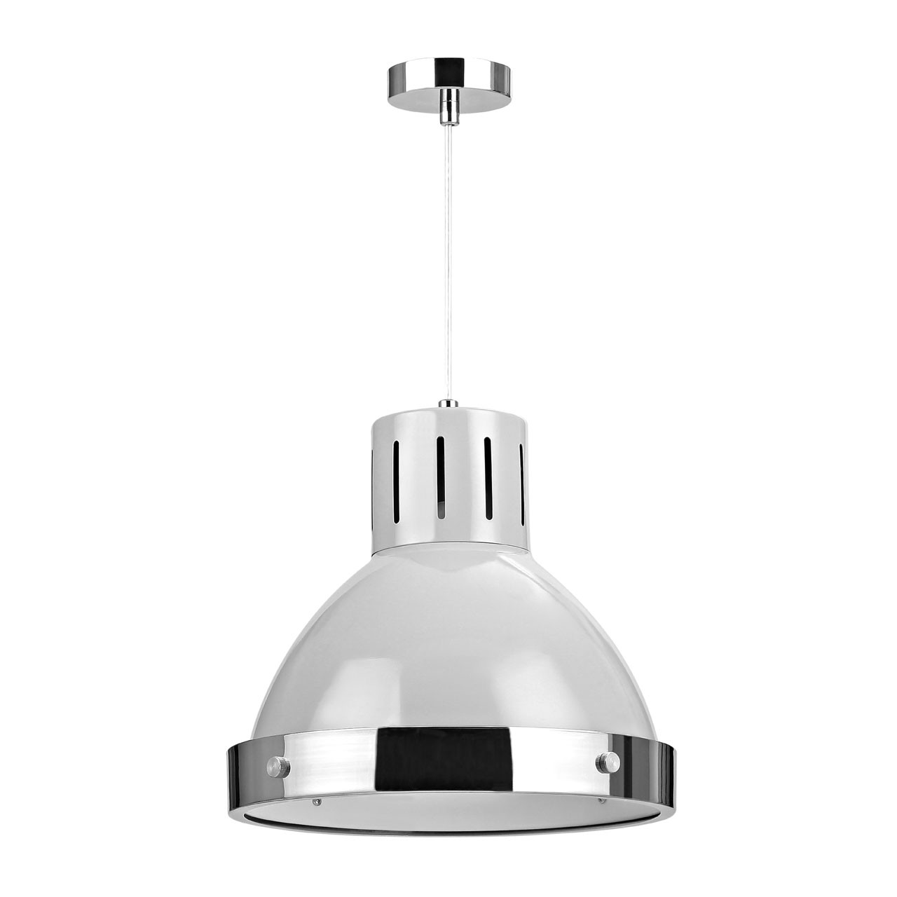 Prime Furnishing Vermont Pendant Light - Flint Grey