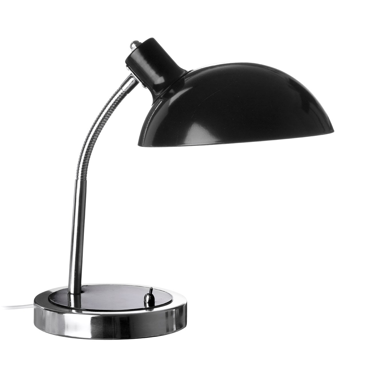 Prime Furnishing Flexible Metal Desk Lamp - Black