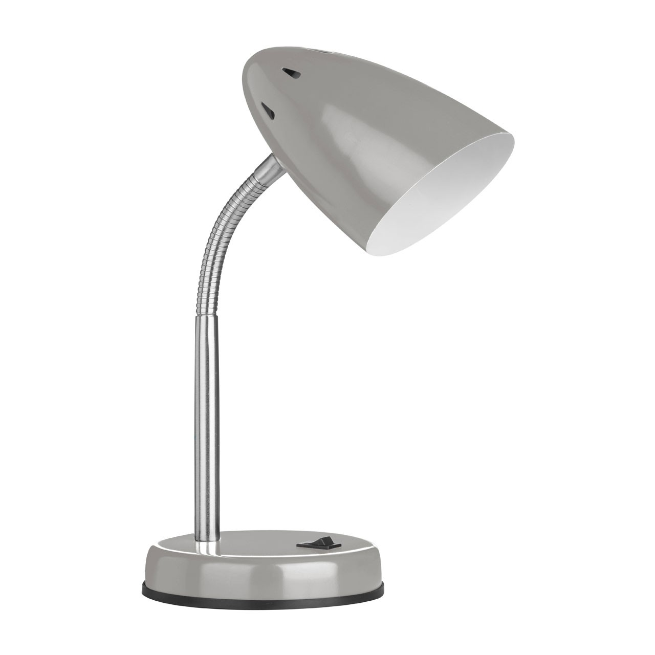Prime Furnishing Flexi Desk Lamp - Grey