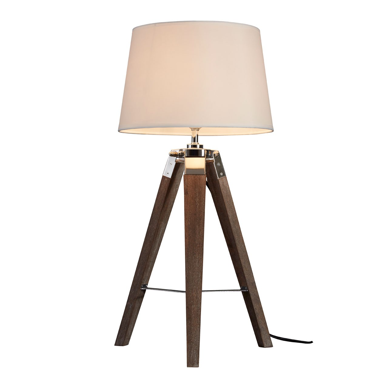 Bailey Tripod Table Lamp Rich Brown Finish