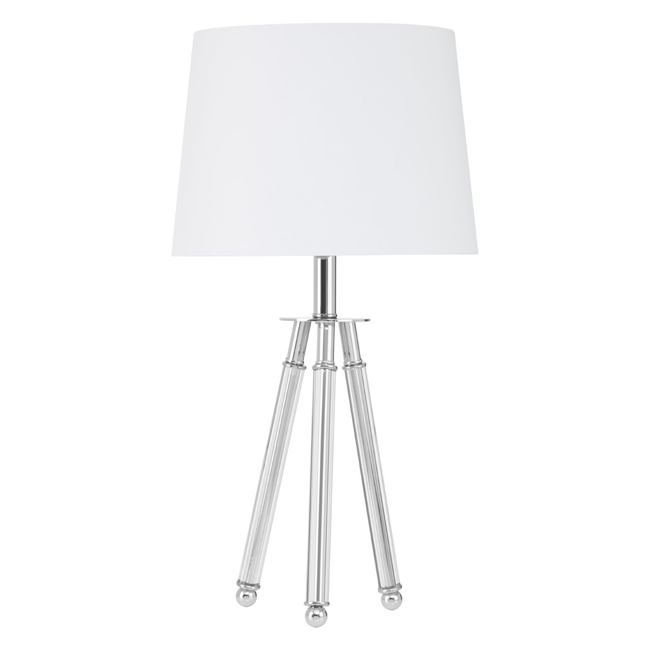Halia Chrome Finish Table Lamp