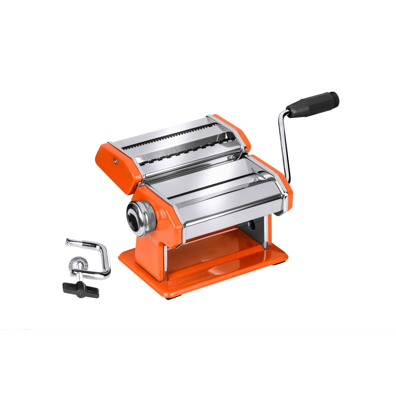 Stainless Steel Pasta Maker - Orange