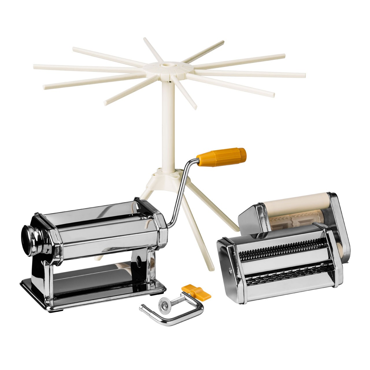 From Scratch Multi Pasta Maker Set - Chrome