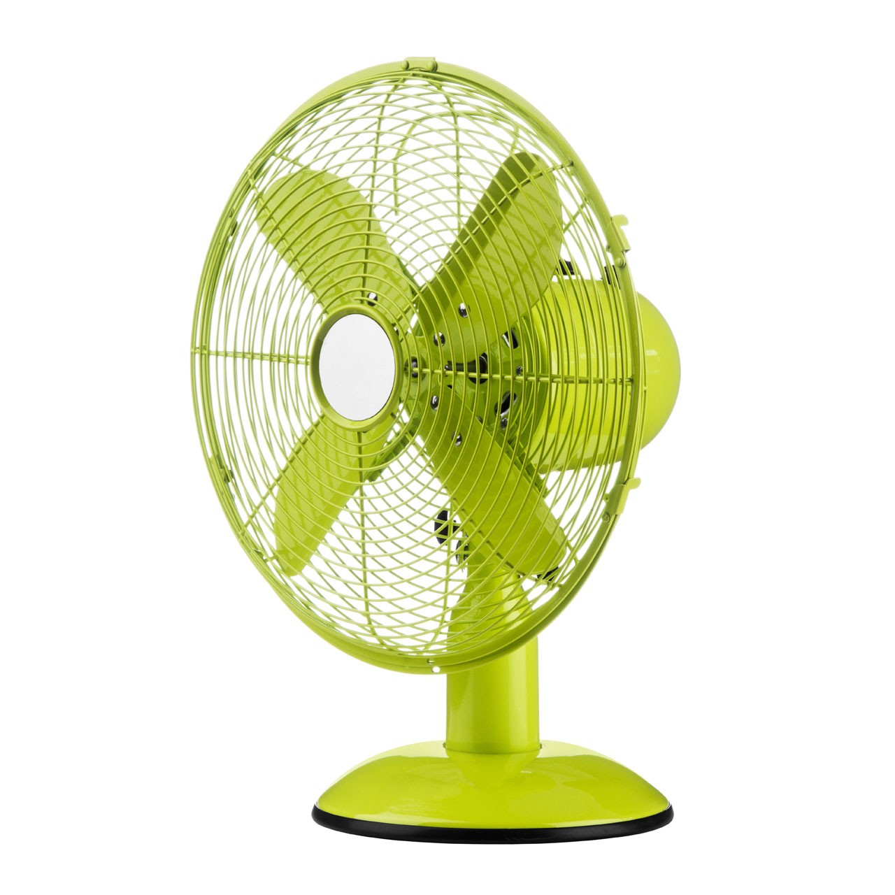 Desk Fan with 3 Speeds/ Oscillation, Lime Green