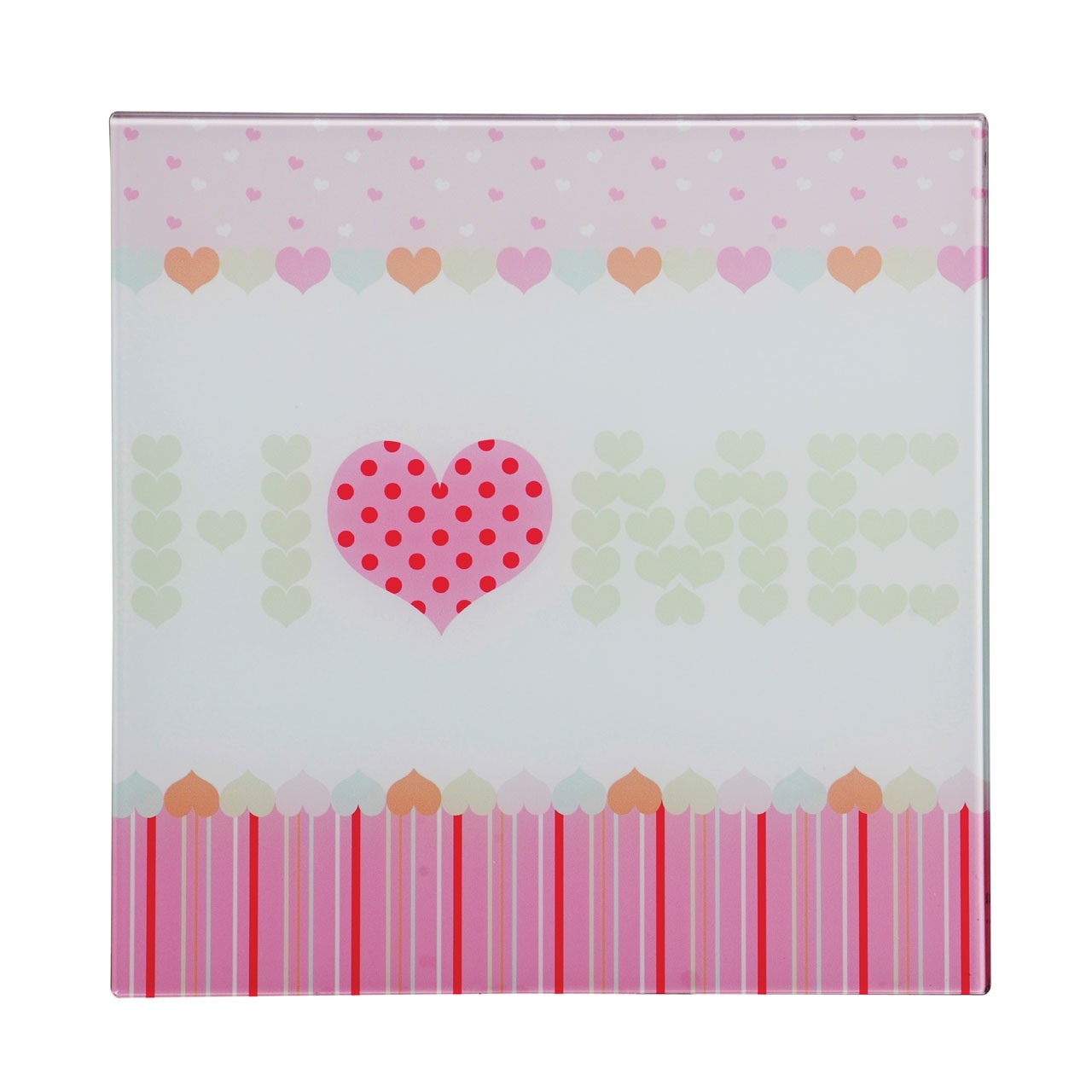 Premier Housewares Home Sweet Home-1 Glass Print - 30 x 30 cm