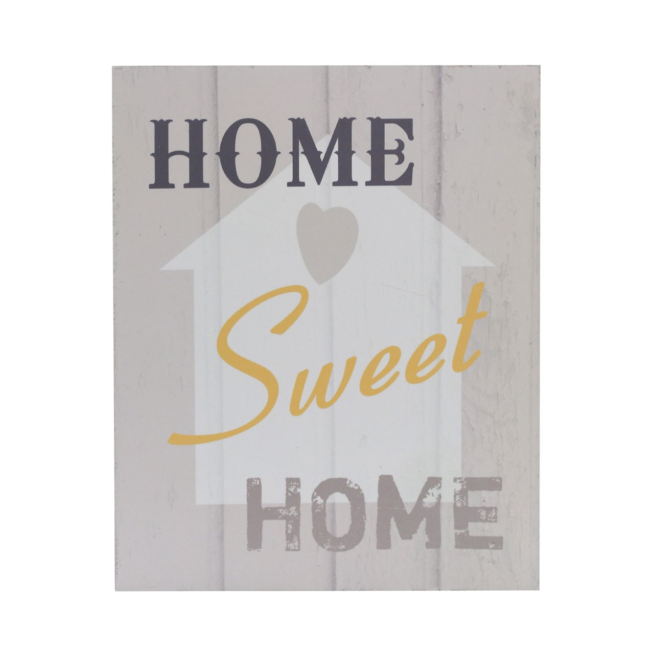"Prime Furnishing ""Home Sweet Home"" Wall Plaque"