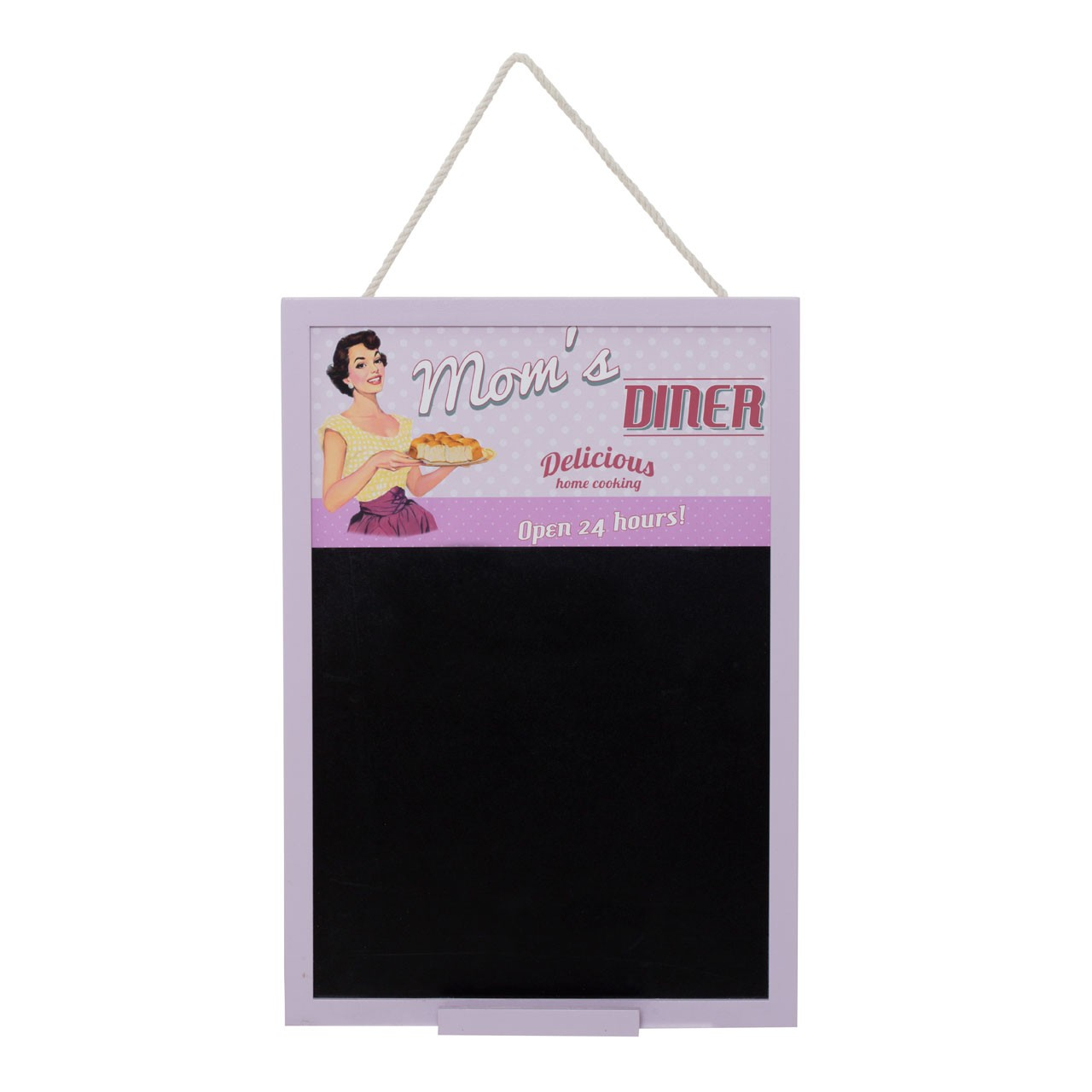 Doris Chalkboard with Chalk Holder