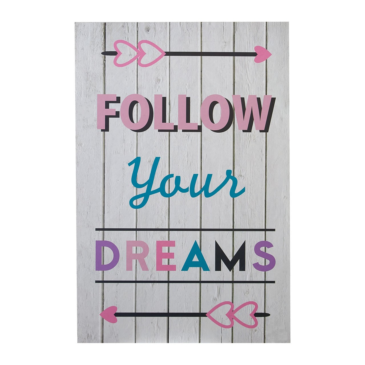 "Prime Furnishing ""Kid's Follow Your Dreams"" Wall Plaque"