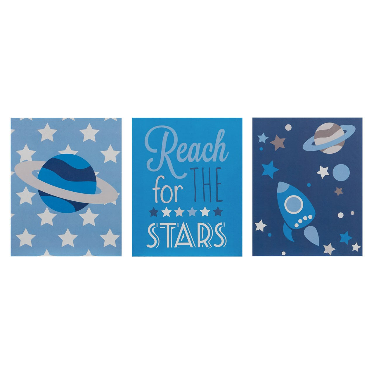 Kids Reach For The Stars Wall Plaques An inspirational addition