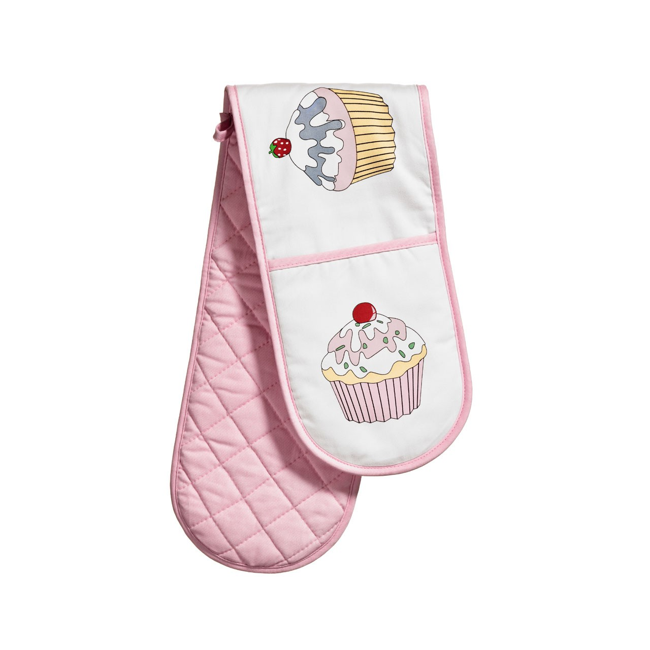 Prime Furnishing Cupcake Double Oven Glove 100% Cotton