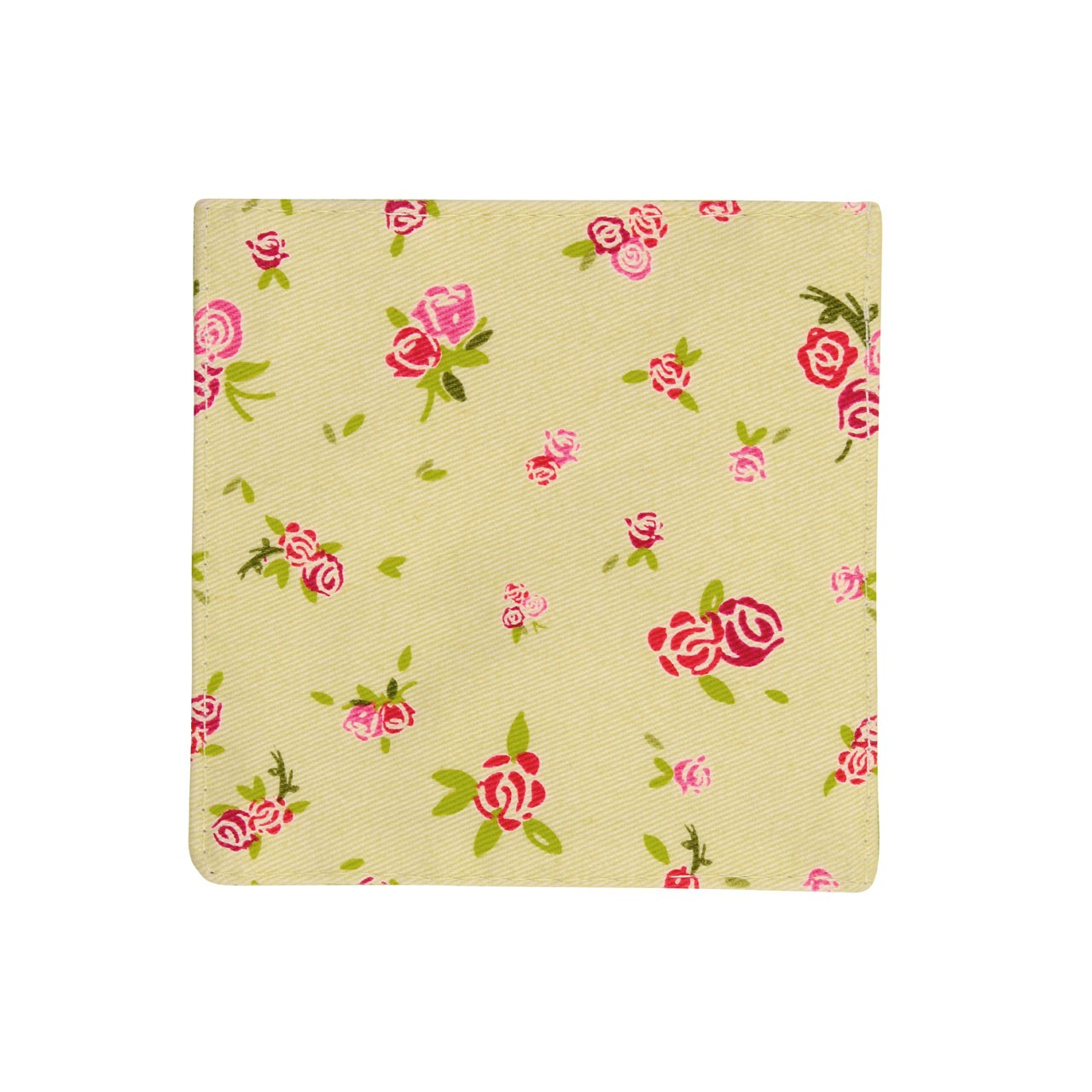 Cotton Rose Cottage Coaster - Set of 4