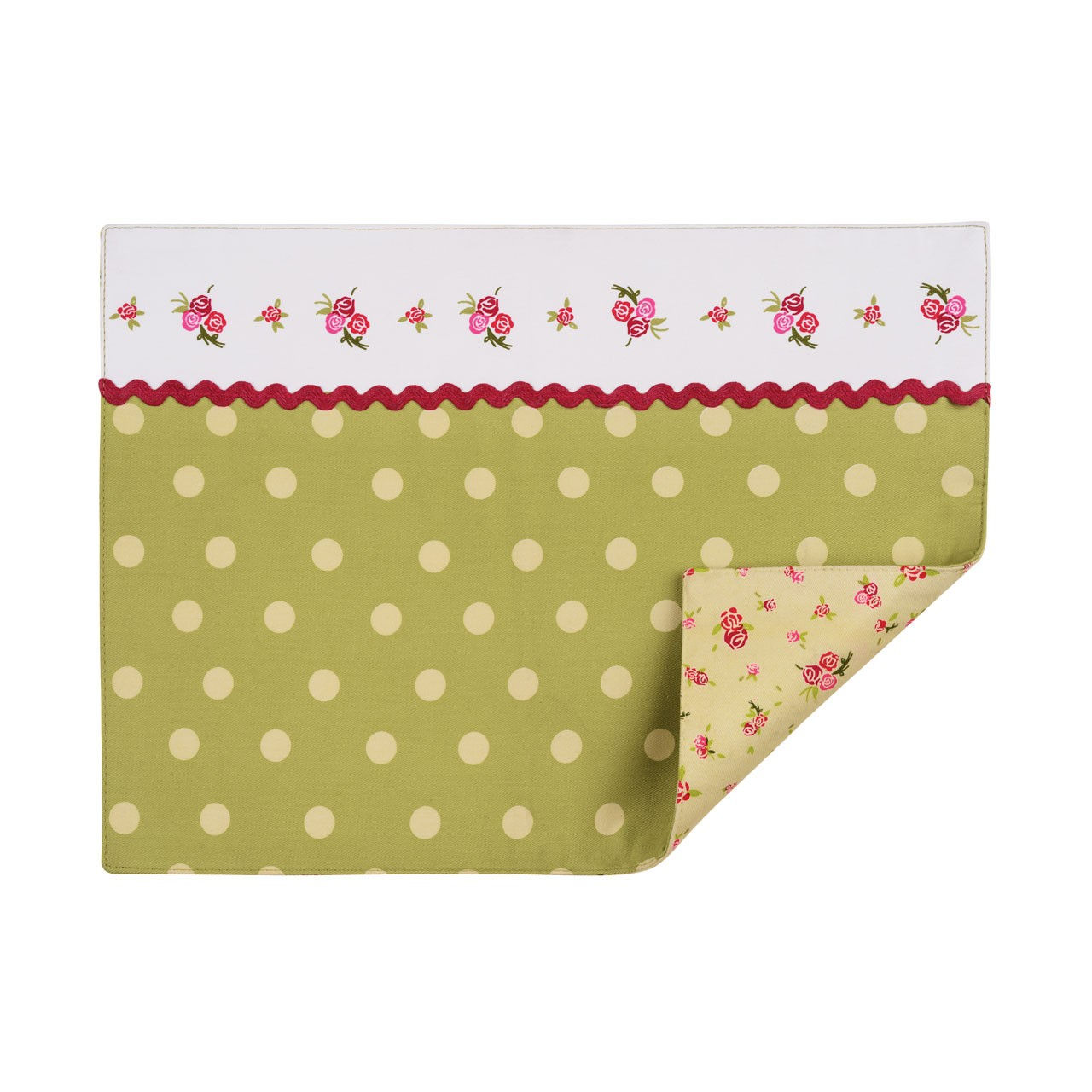 Rose Cotton Cottage Placemats - Set of 4