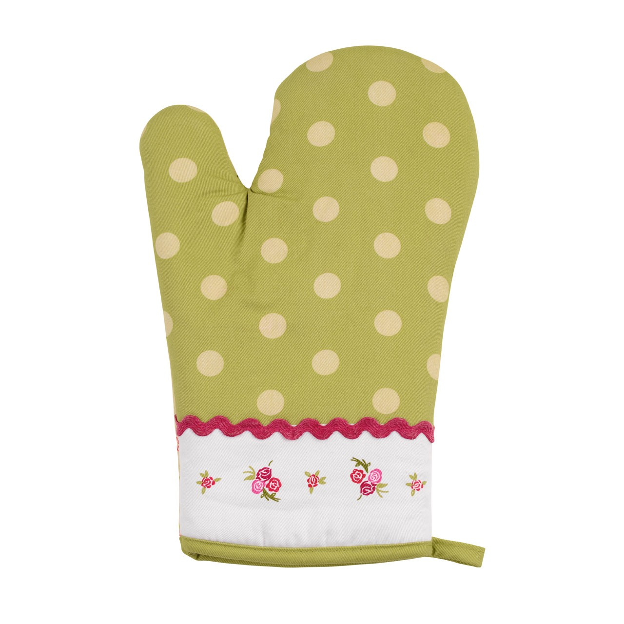 Cotton Rose Cottage Oven Glove