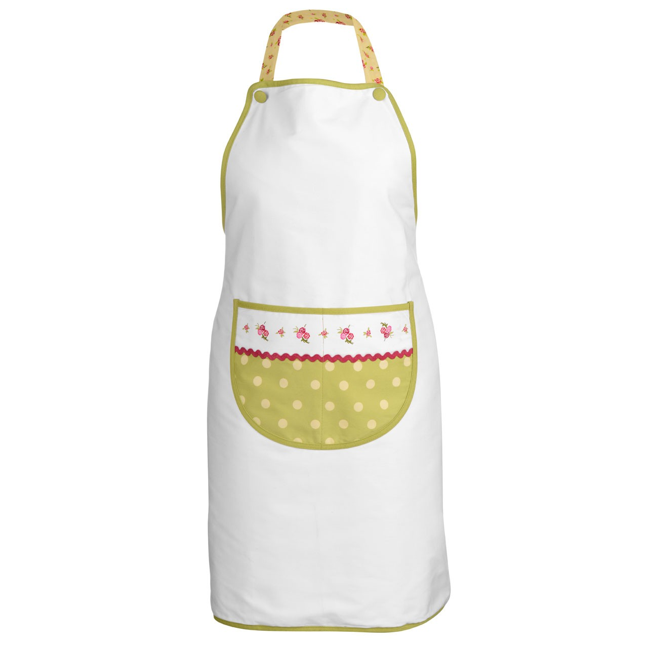 Rose Cotton Kitchen Apron