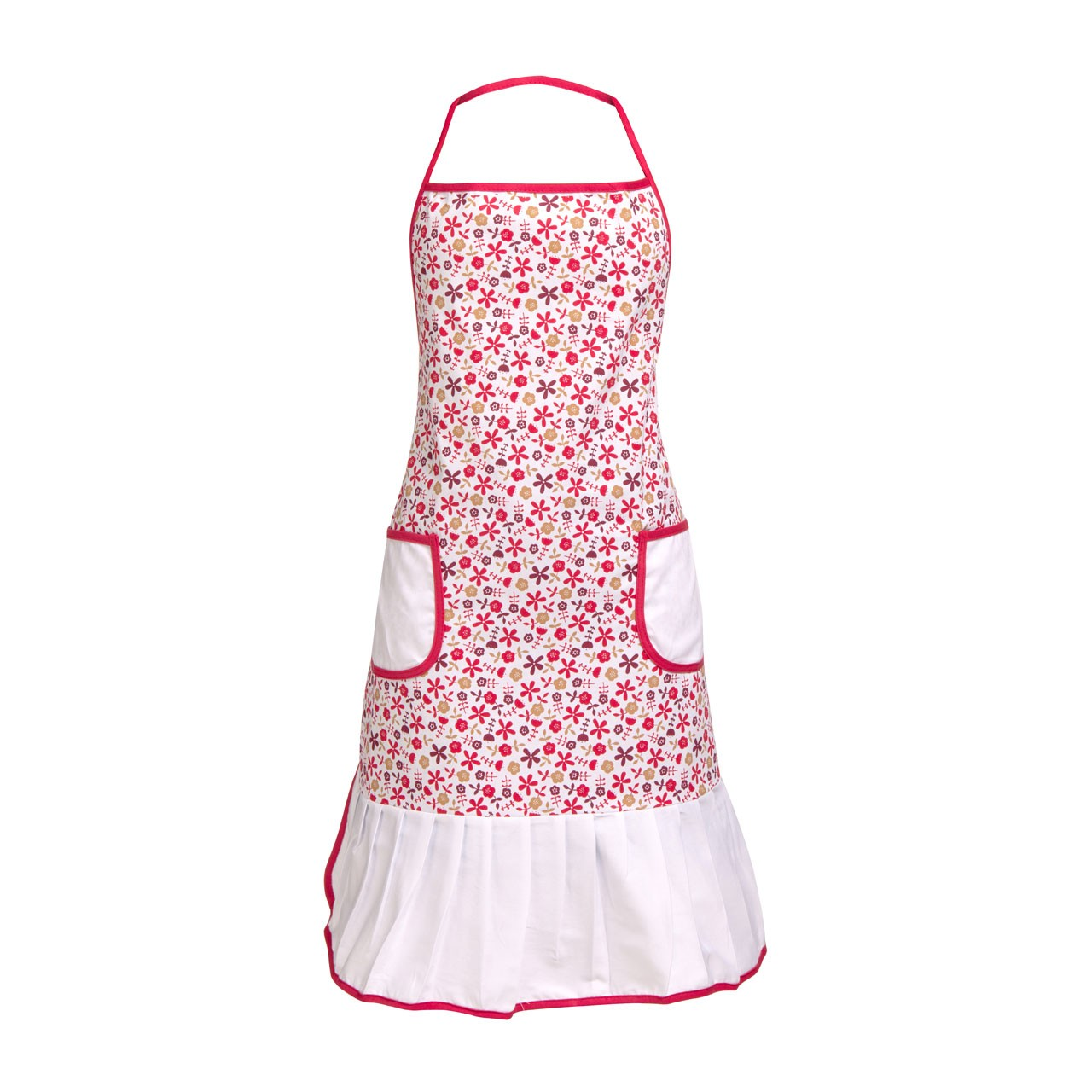 Daisy Apron - Red