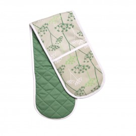 Prime Furnishing Cow Parsley Double Oven Glove