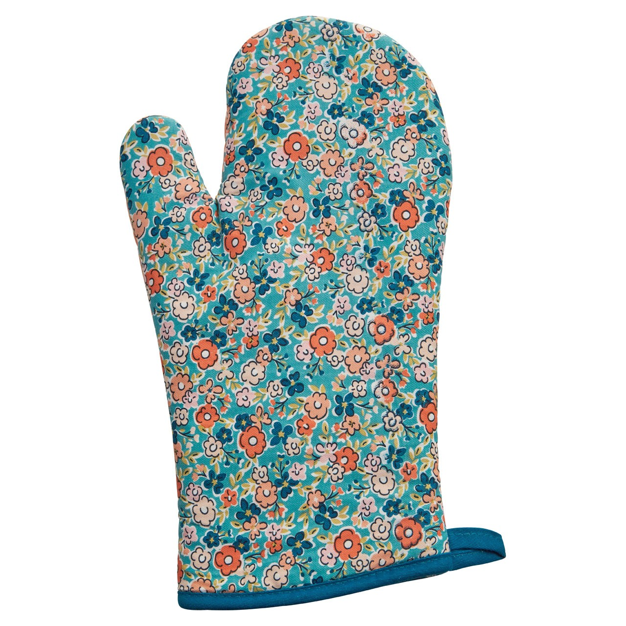 Prime Furnishing Pretty Things Single Oven Glove, Multi-Coloured