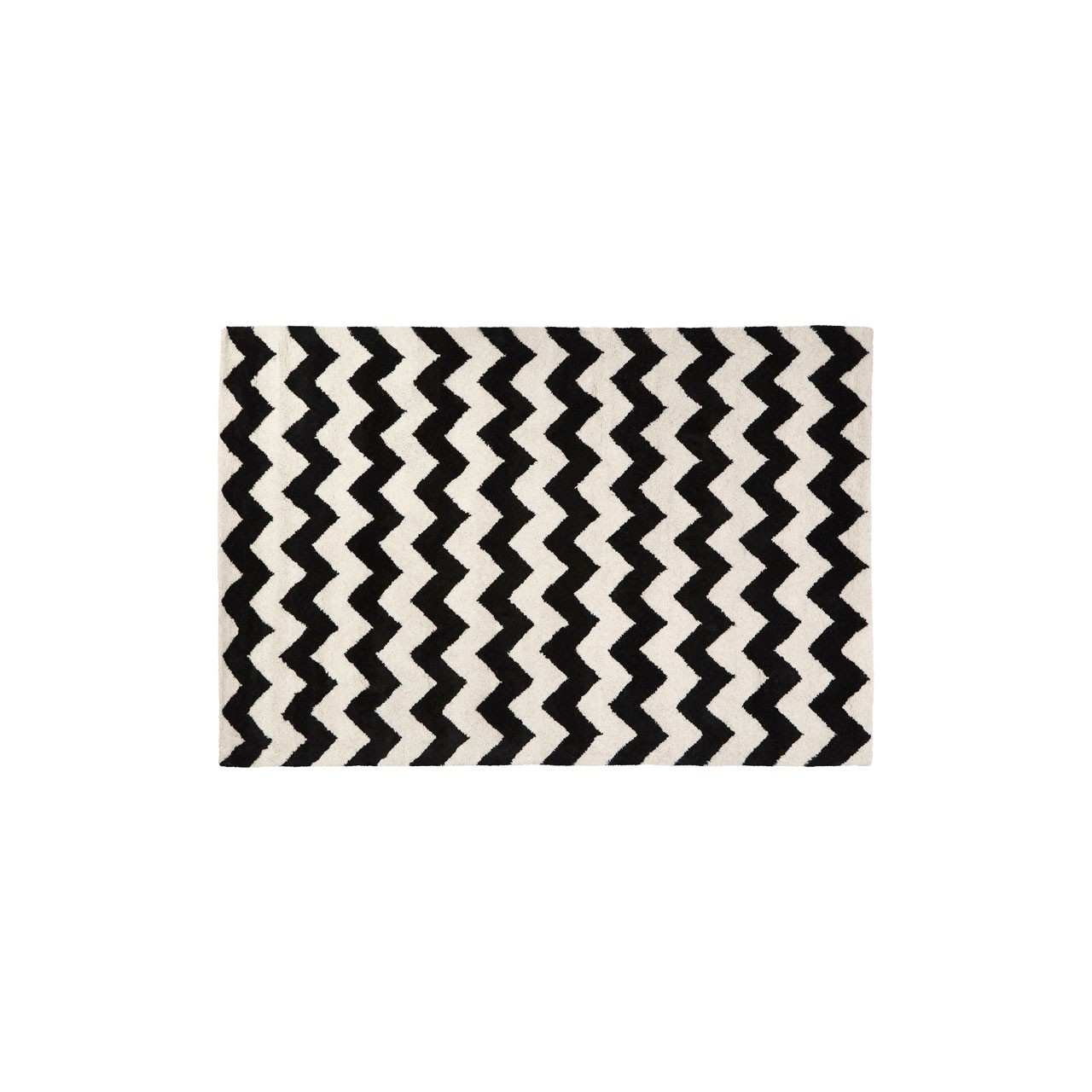 Prime Furnishing South Beach Rug - Black/White