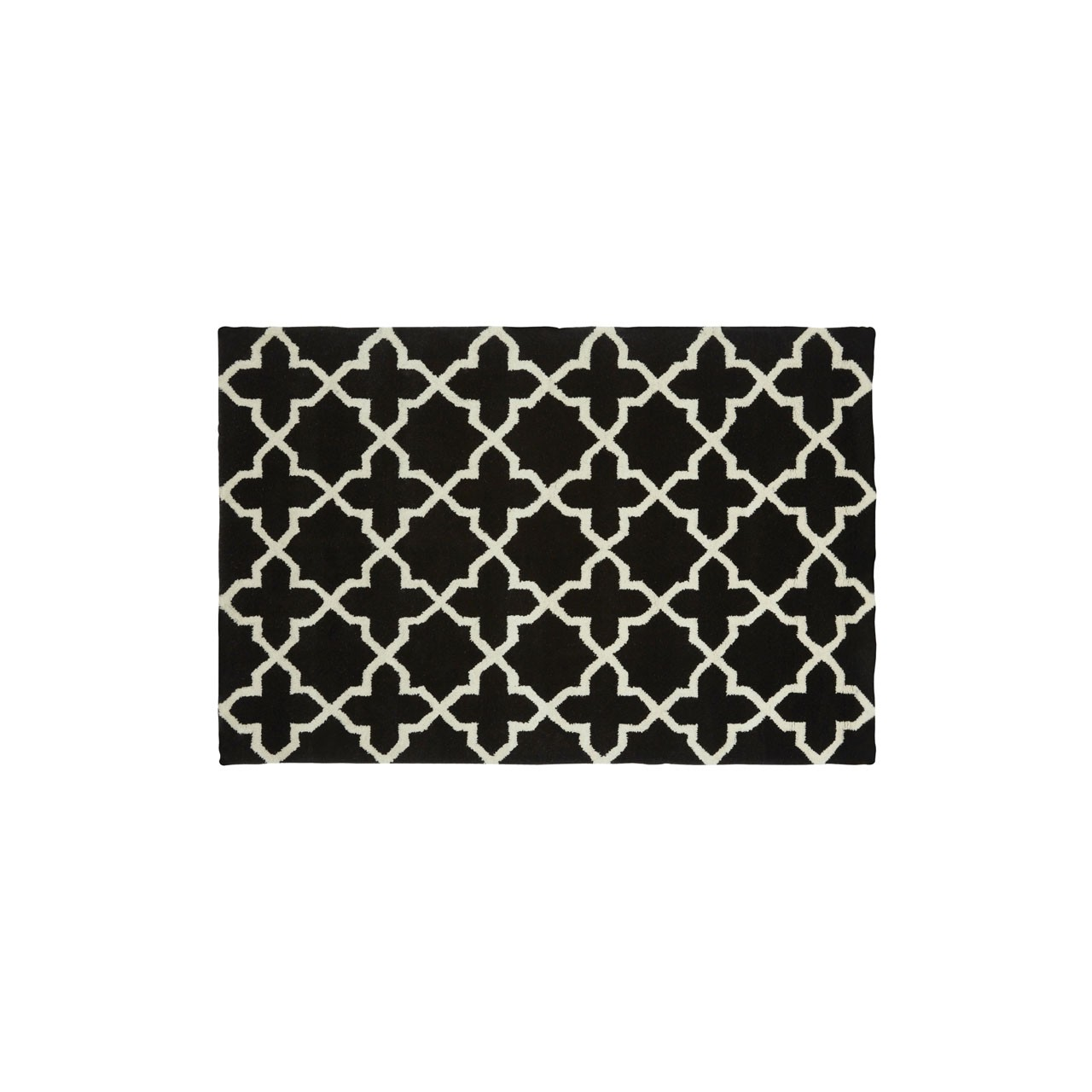 Prime Furnishing Kensington Rug - Black/White