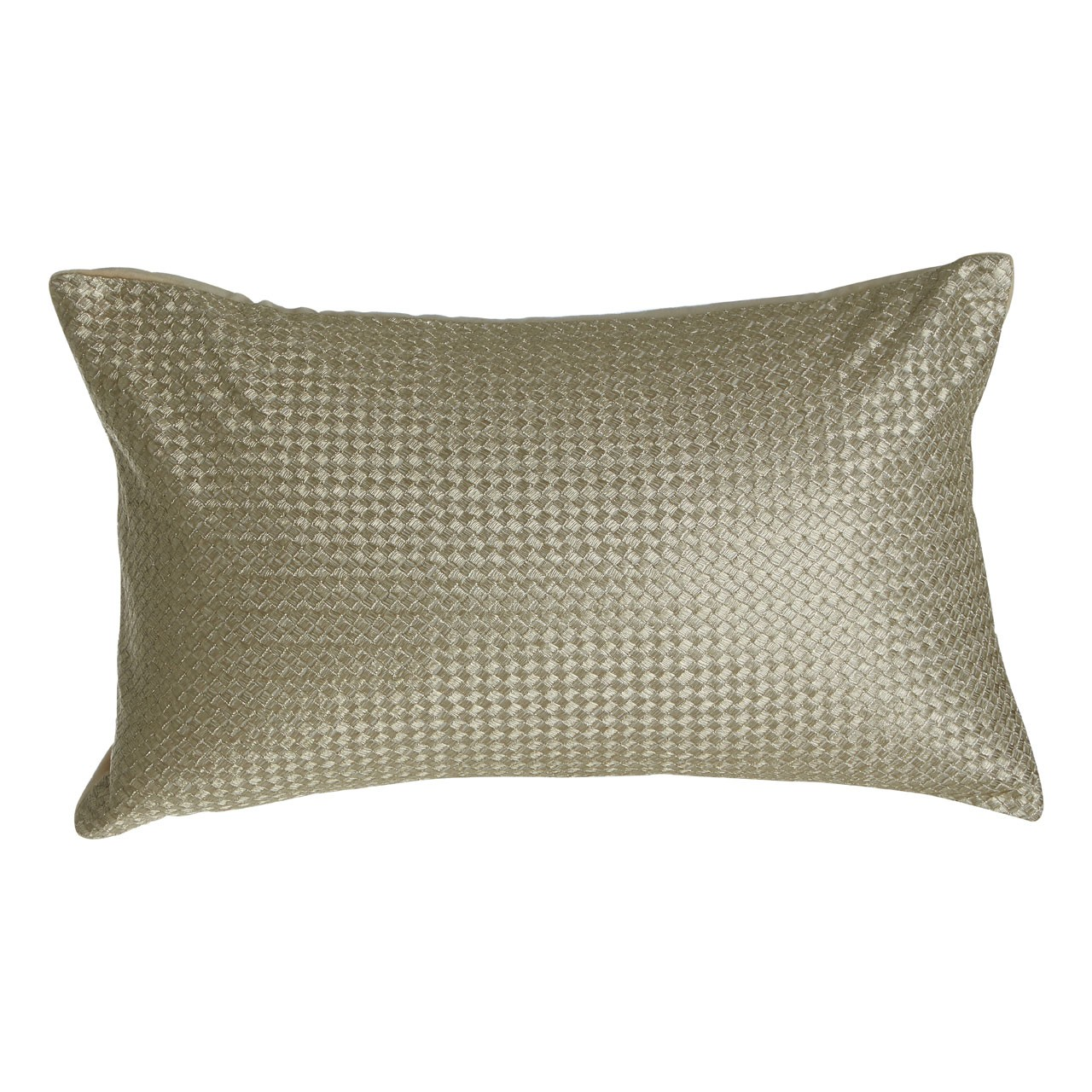 Prime Furnishing Kensington Townhouse Cushion, Metallic Waffle